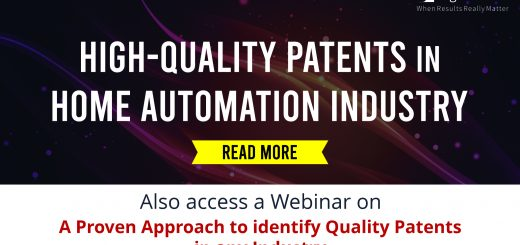 High-quality patents in Home Automation Industry