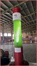 Algae-Based Air Purifier