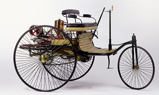 The first automobile_Patent