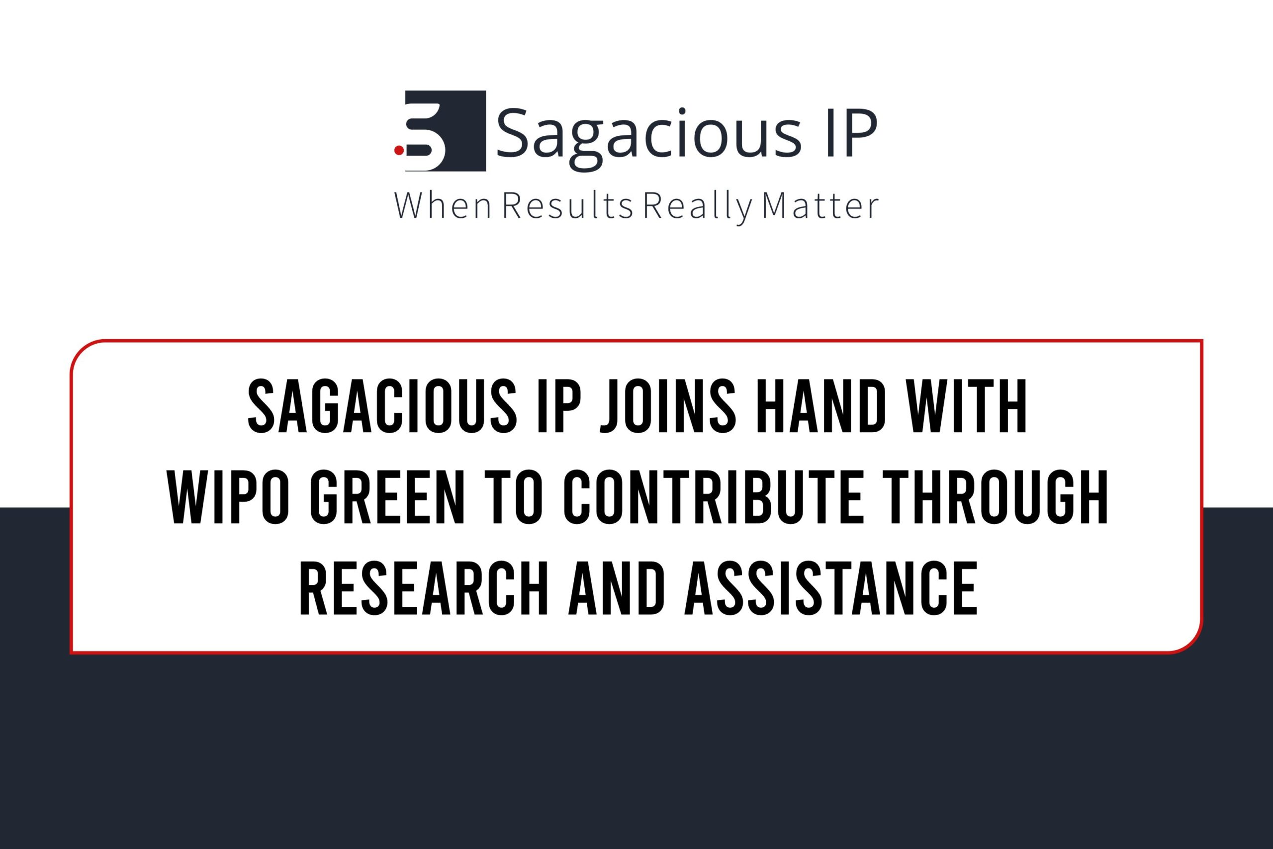 Sagacious IP & WIPO