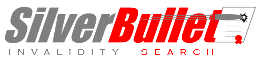 Silver Bullet Invalidity Search Logo