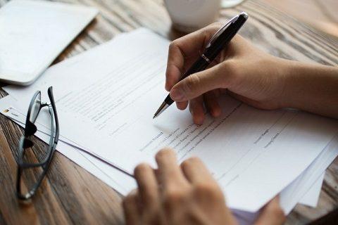 Patent Filing Form Preparation